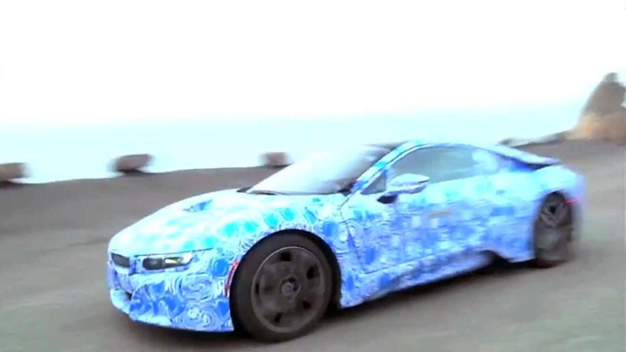 Watch the BMW i8 run away from The Smoking Tire