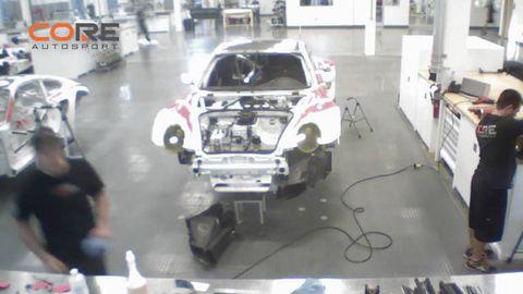 Motor vehicle, Floor, Machine, Automobile repair shop, Auto part, Service, Automotive wheel system, Hood, Windshield, Bumper,