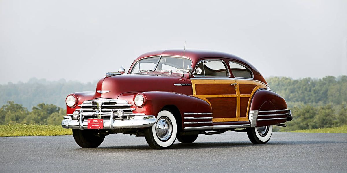 Hershey Car Show >> 1948 Chevrolet Fleetline Aerosedan Coupe Photos - R&T Buy ...
