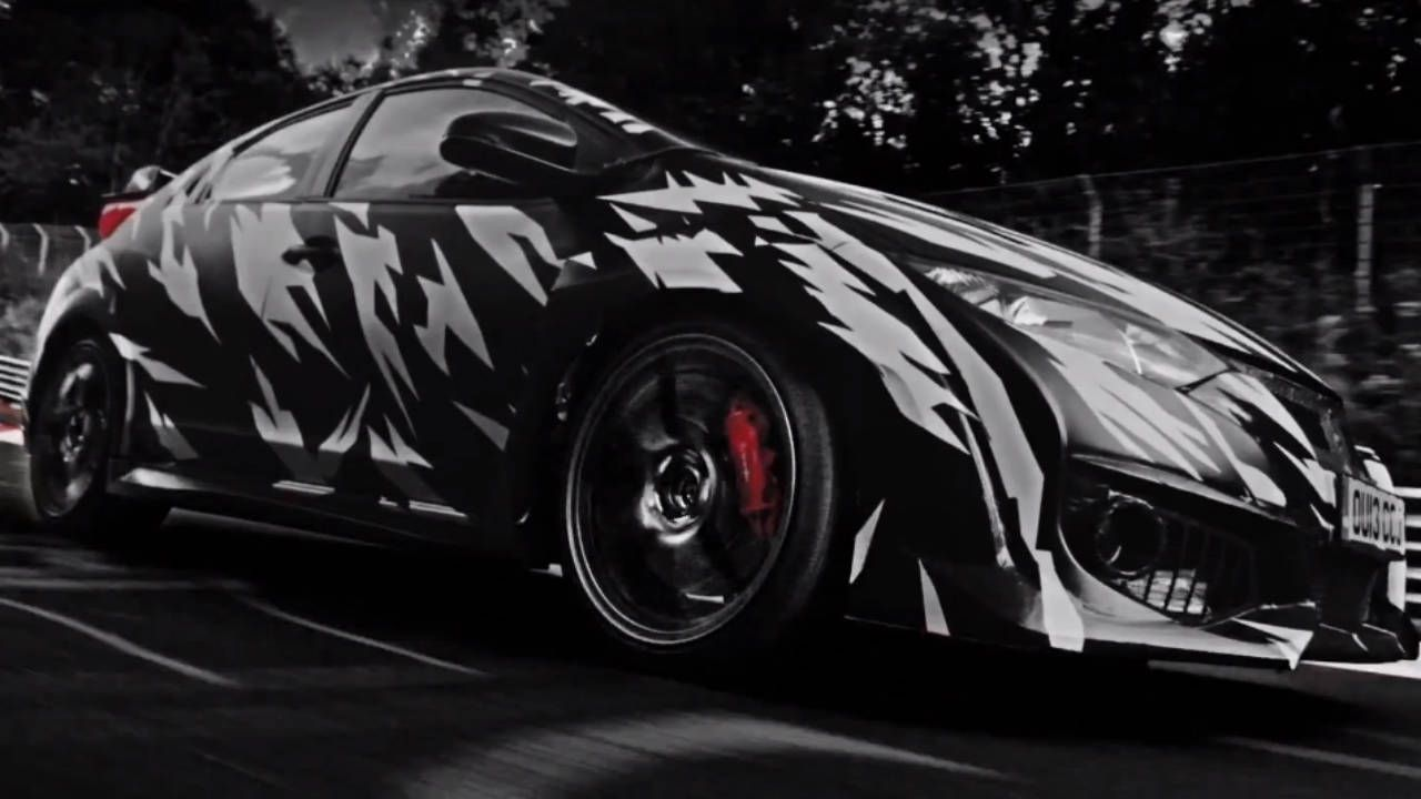 The 2015 Euro-spec Civic Type R tears up the Nurburgring