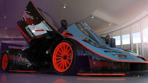 Automotive design, Automotive exterior, Car, Automotive tire, Motorsport, Auto part, Logo, Automotive wheel system, Race car, Auto show,