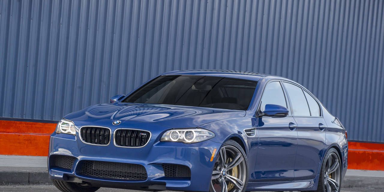 Slideshow: BMW M5 Competition Package