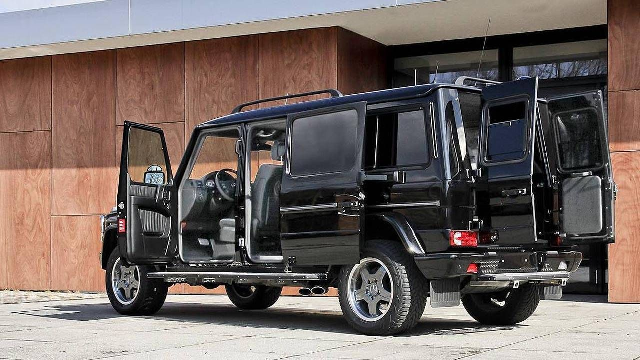 Buy this G-Wagon limo and a gigantic tool set from Snap-on