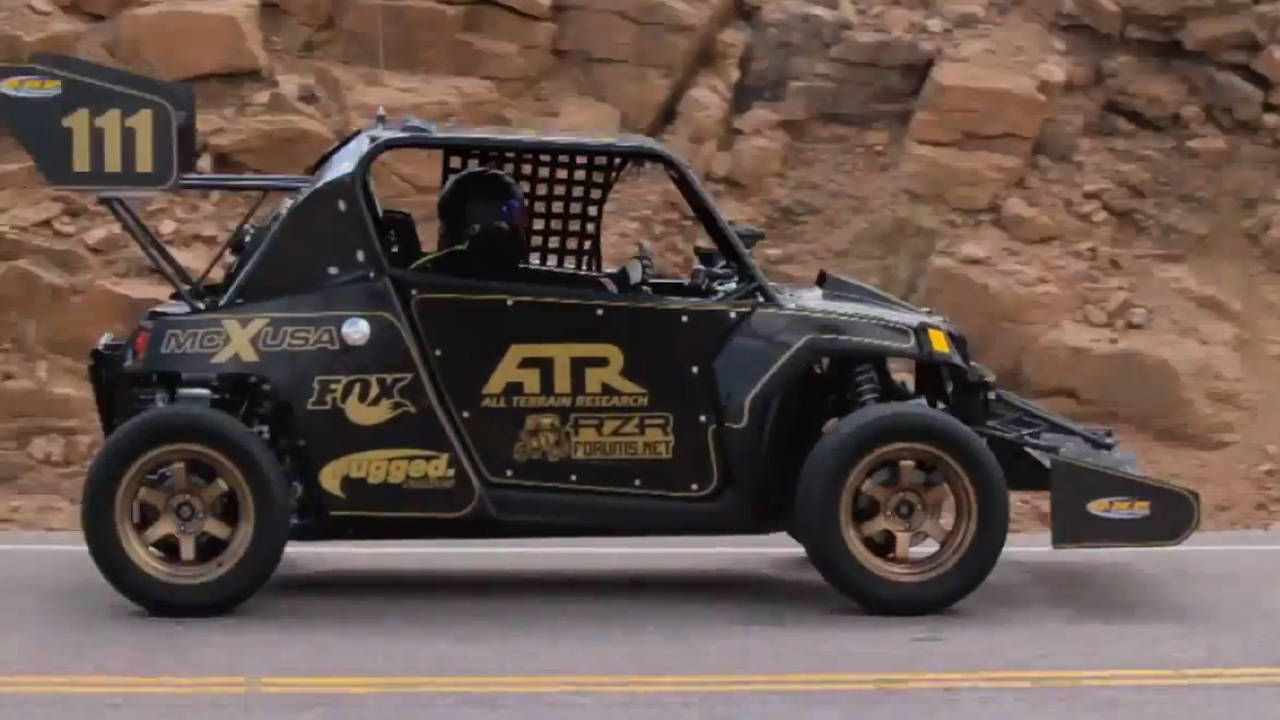 A turbo Polaris RZR at Pikes Peak is better than coffee