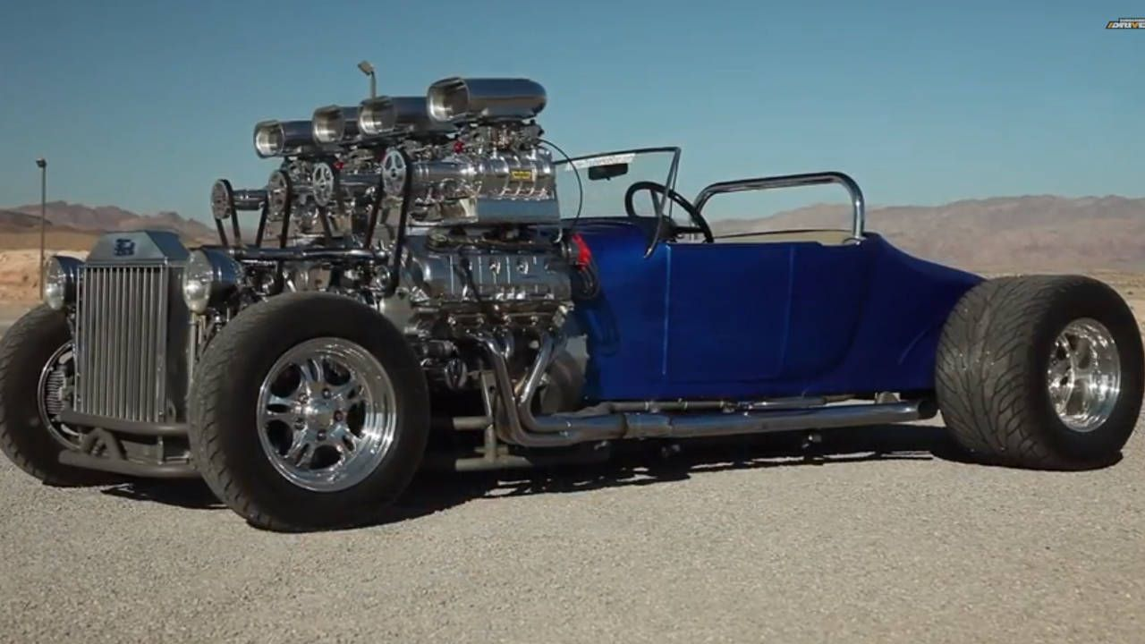 1927 ford model t dual engined quad supercharged t bucket - r&,t