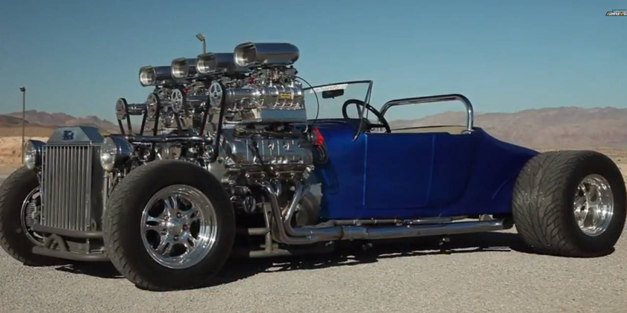 1927 Ford Model T Dual Engined Quad Supercharged T Bucket