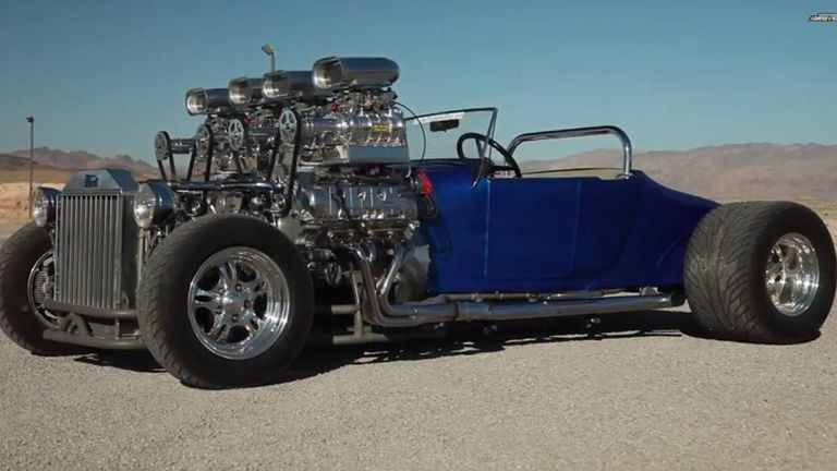 1927 ford model t dual engined quad supercharged t bucket biggest muscle car engine #7