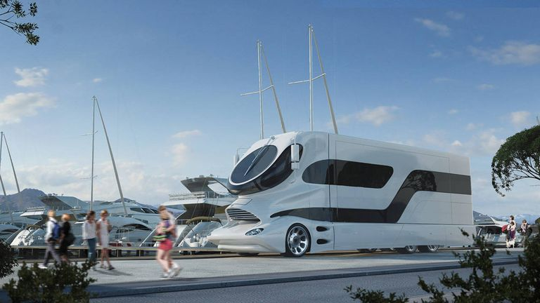 3 million land yacht elemment palazzo superluxury rv if you hate boats but want to live that superyacht lifestyle marchi mobiles elemment palazzo mobile home will suit you perfectly sciox Gallery