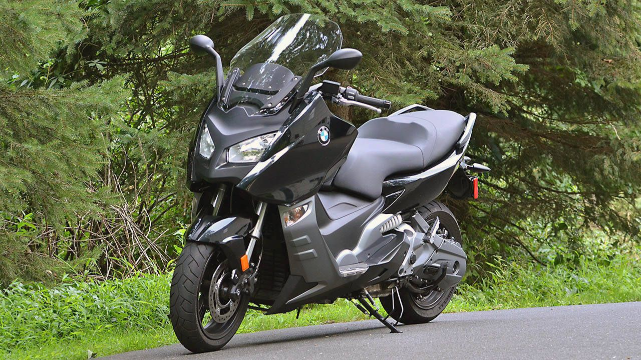 The BMW C 600 Sport is a scooter with the heart of a motorcycle