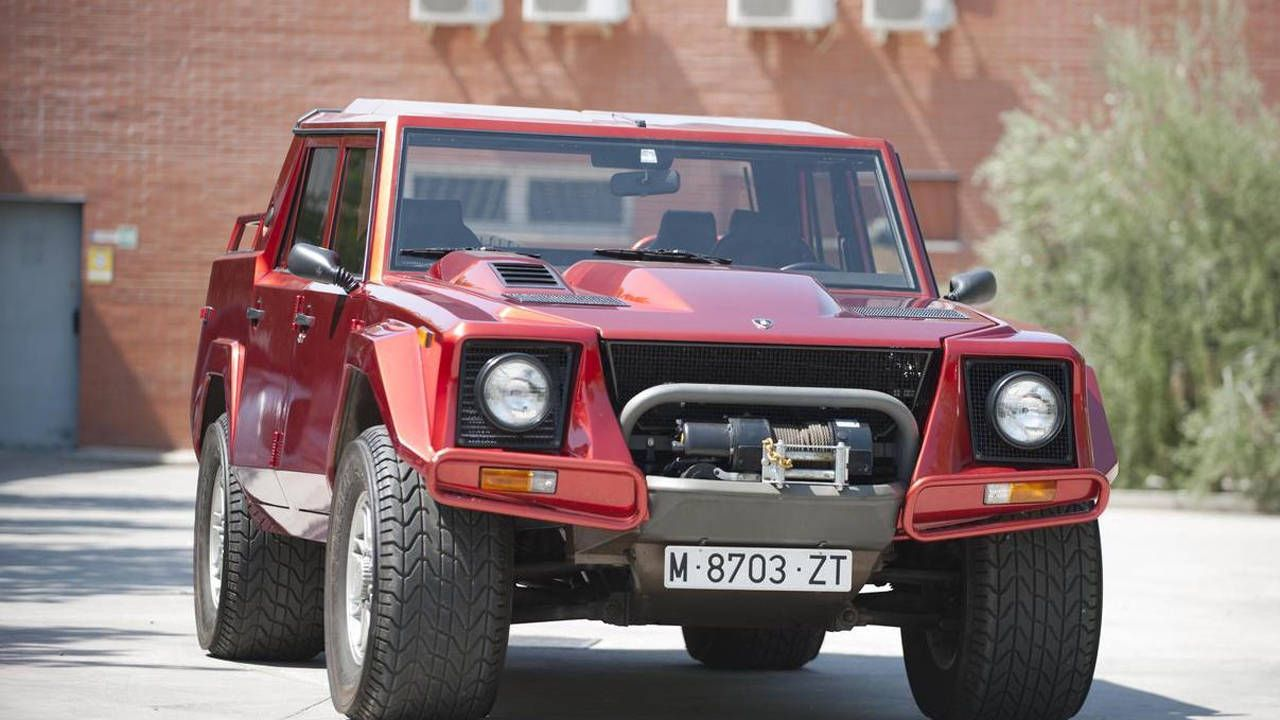 Buy this 1991 Lamborghini LM002 and a modular kayak