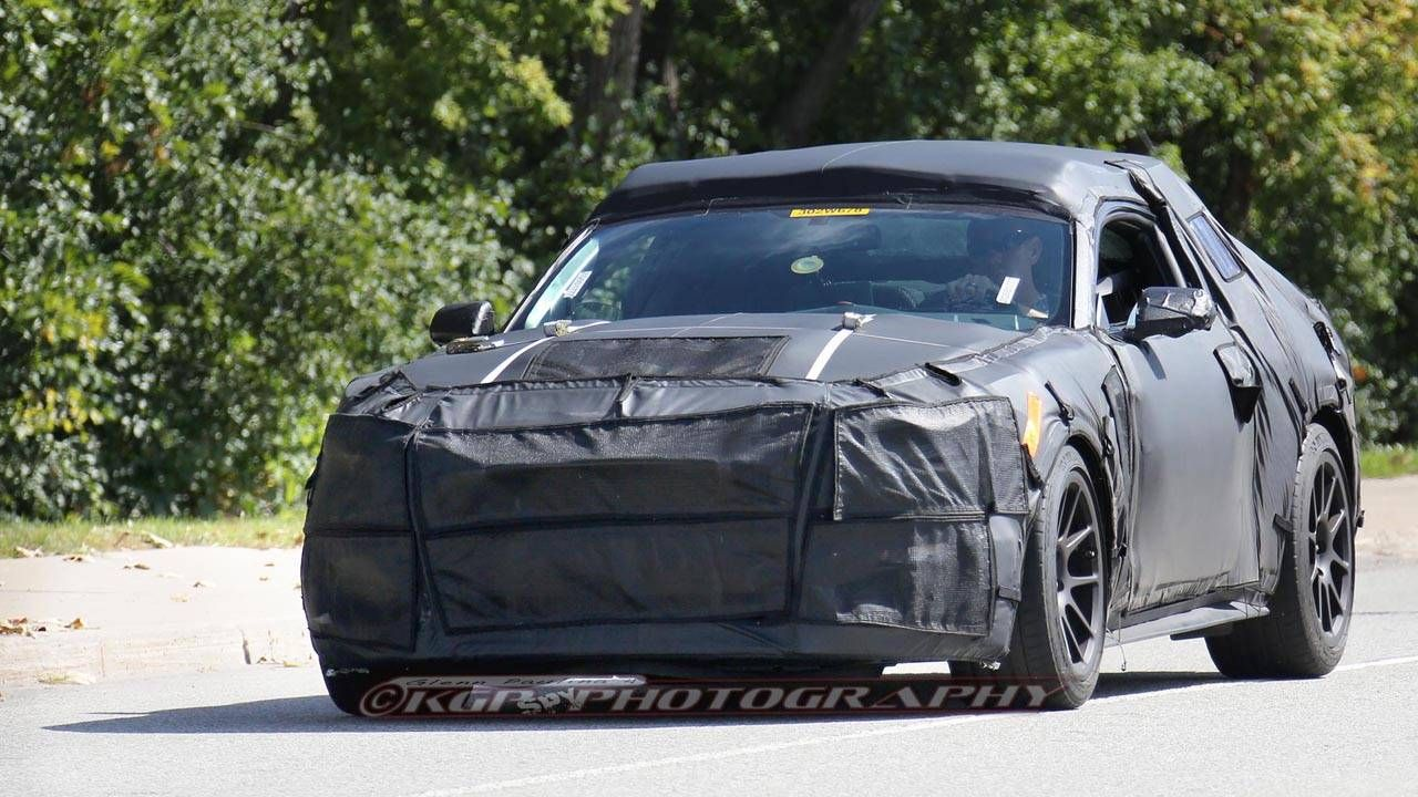 Look at the 2015 Ford Mustang interior