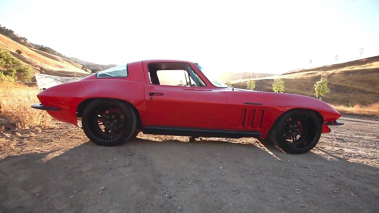Watch this '65 Corvette decimate an autocross course