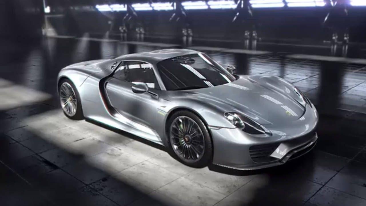 The beating heart of Porsche's 918 Spyder