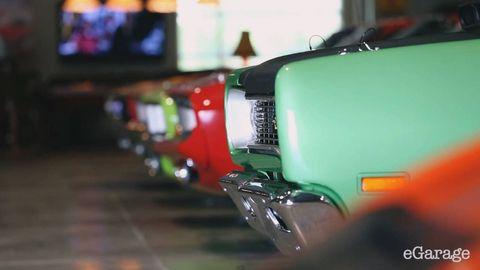 Motor vehicle, Automotive design, Automotive lighting, Fender, Automotive exterior, Teal, Classic car, Classic, Automotive tail & brake light, Kit car,
