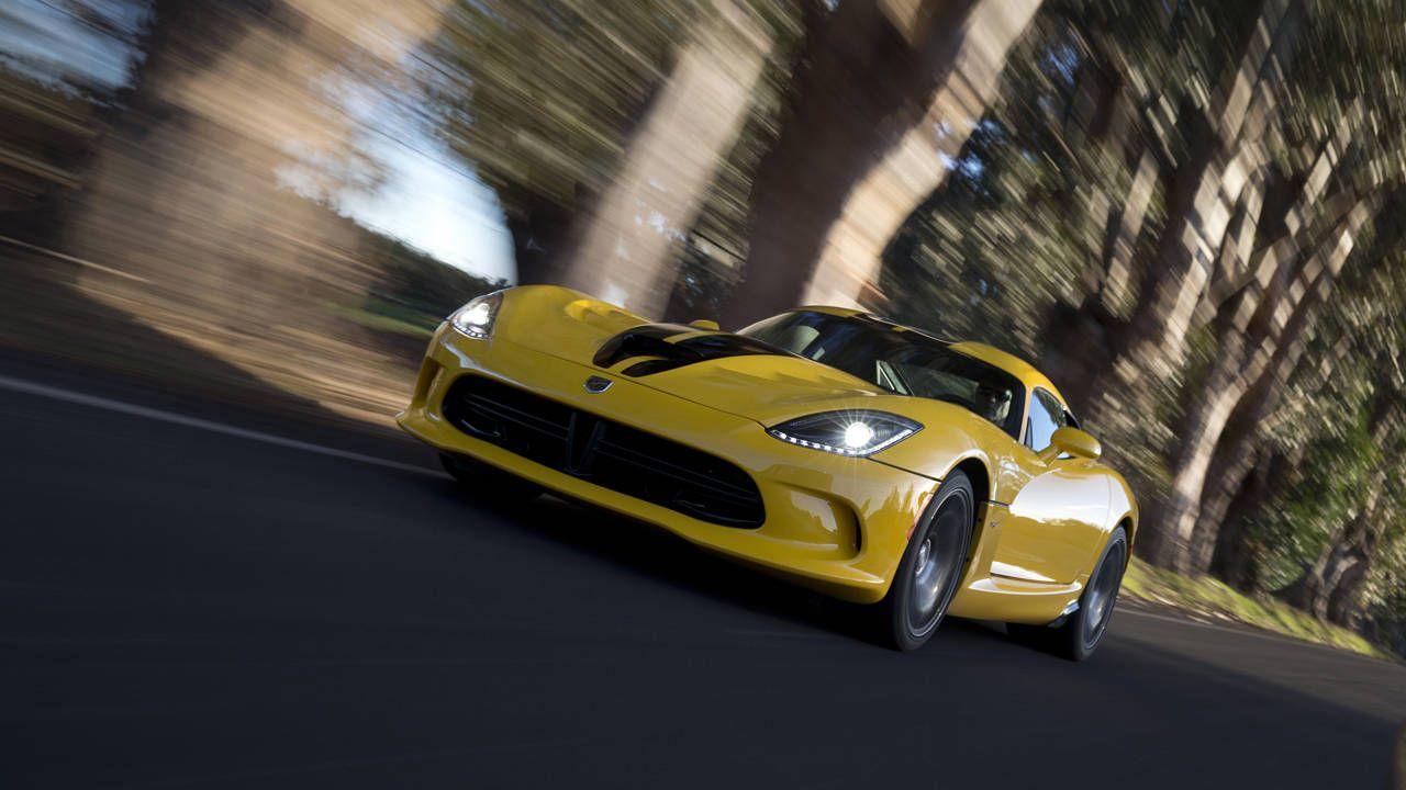 The slow selling SRT Viper is bad for dealers, but good for you