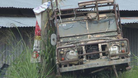 Motor vehicle, Scrap, Rust, Gas, Machine,
