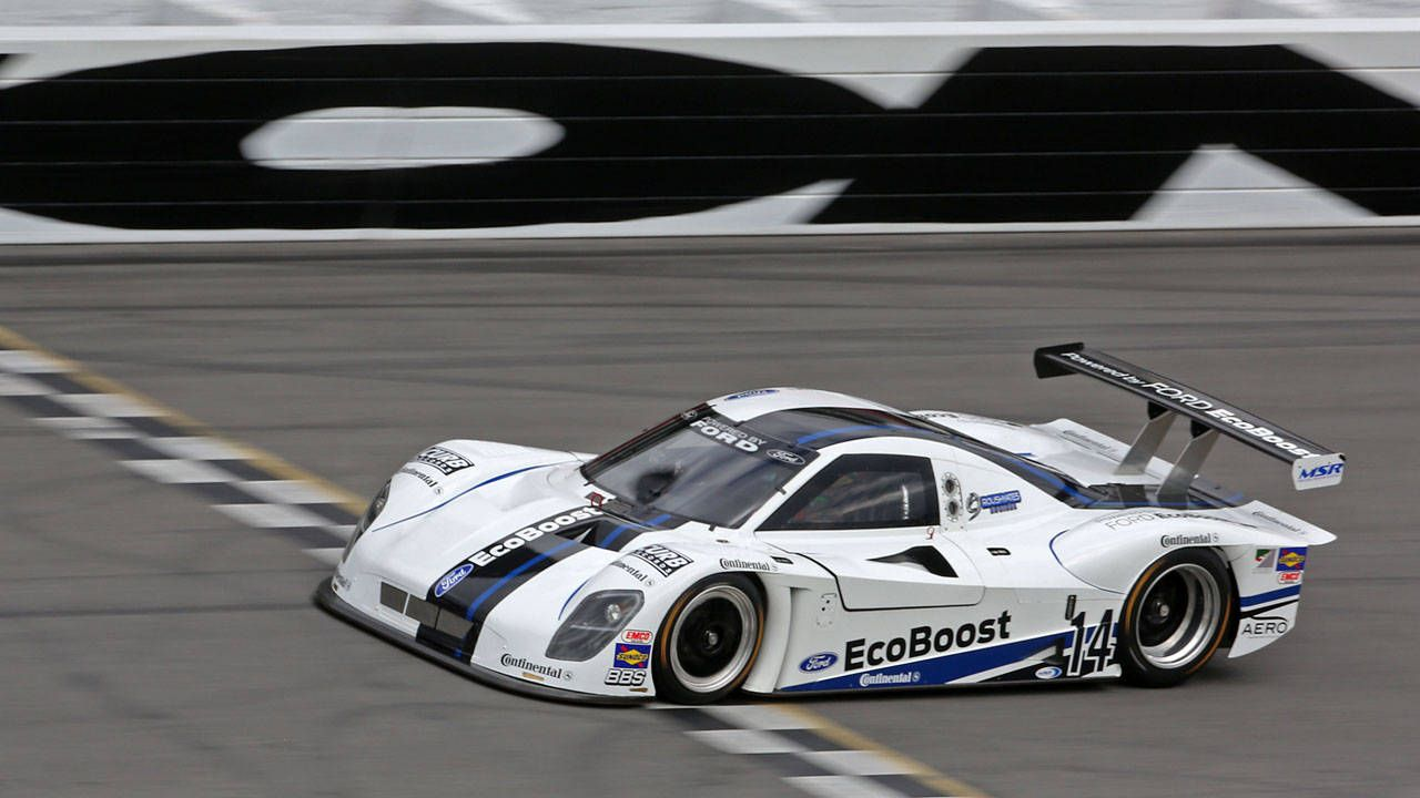Ford blows out 25-year speed record at Daytona with EcoBoost prototype