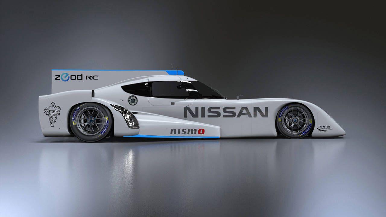 Nissan unveils finalized ZEOD RC Le Mans prototype