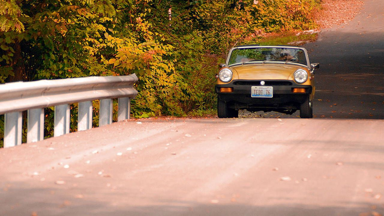 The best driving happens in Autumn