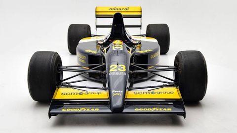 Tire, Wheel, Automotive tire, Automotive design, Open-wheel car, Yellow, Automotive wheel system, Automotive exterior, Formula one car, Formula one tyres,