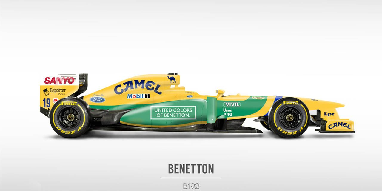 You'll love these retro liveries on modern F1 cars