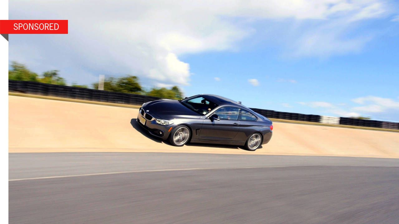 The first-ever BMW 435i takes on the track