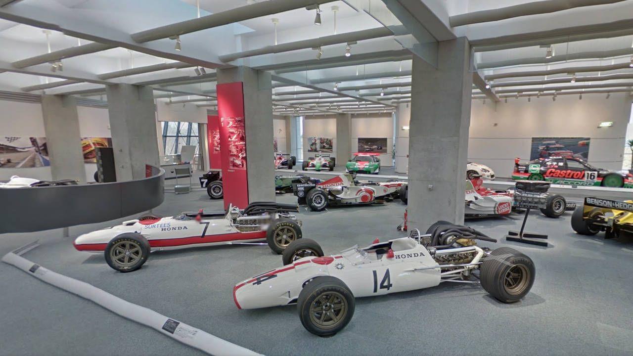 Visit the Honda race car museum on Google maps