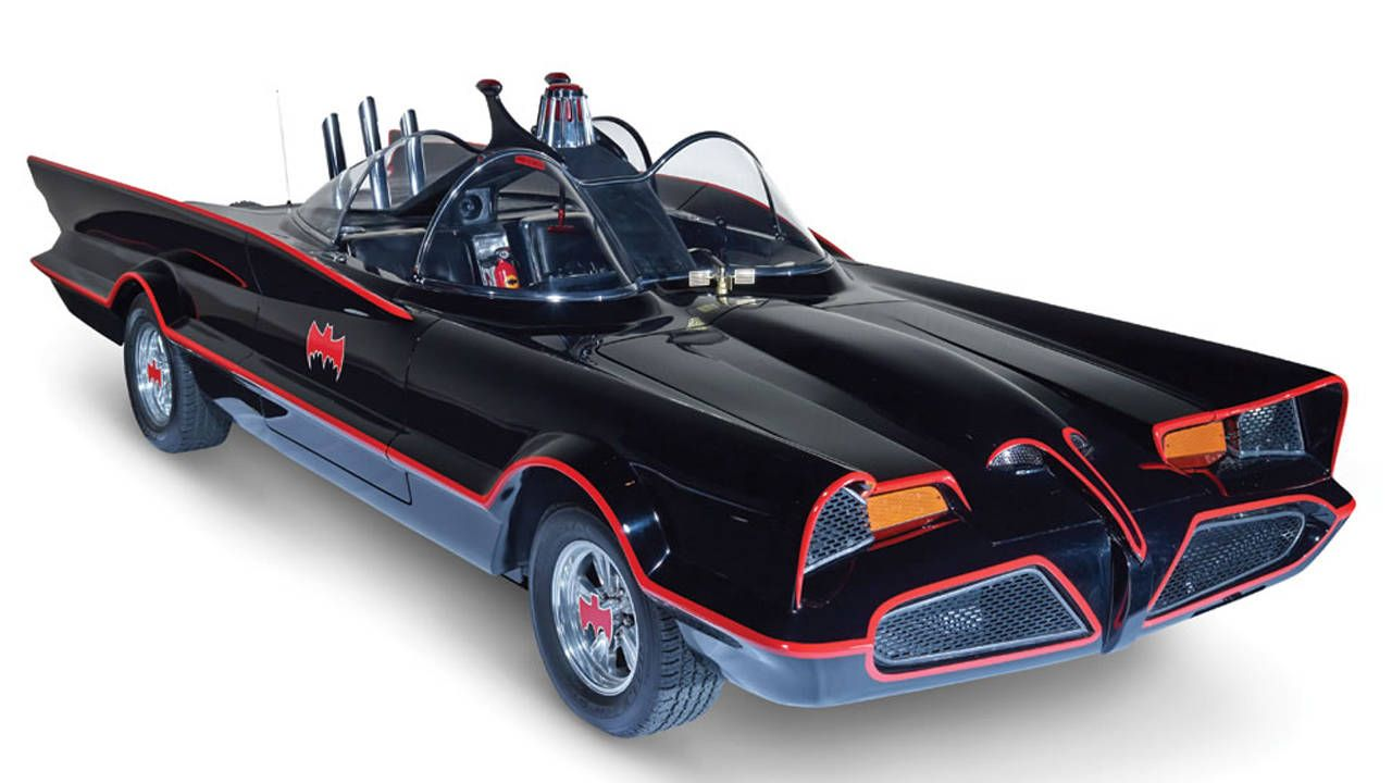 Win Halloween with this Batmobile and Batman costume combination
