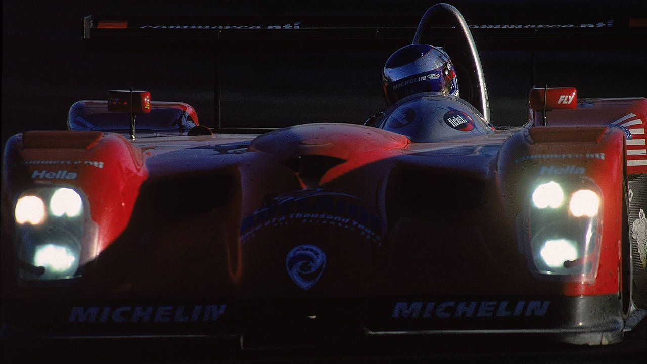 A lap of Le Mans onboard a Panoz is better than coffee