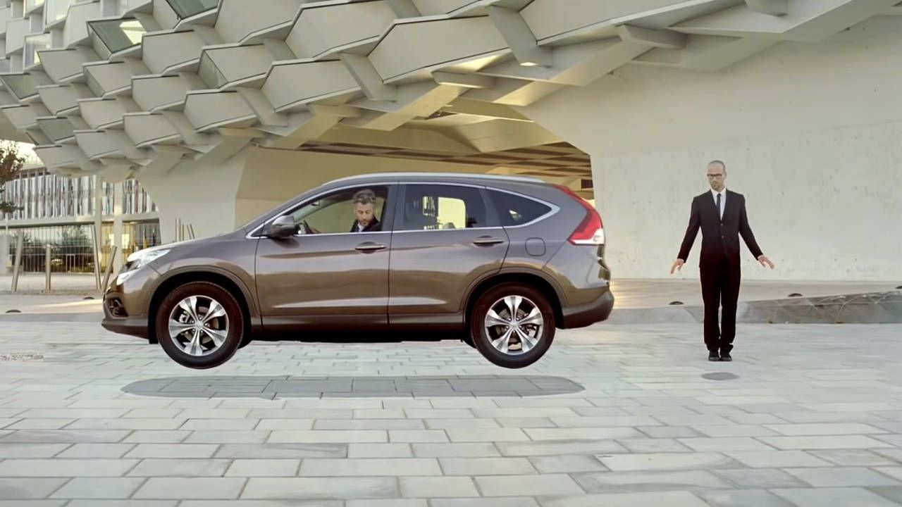 Watch Honda's trippy commercial for the European CR-V