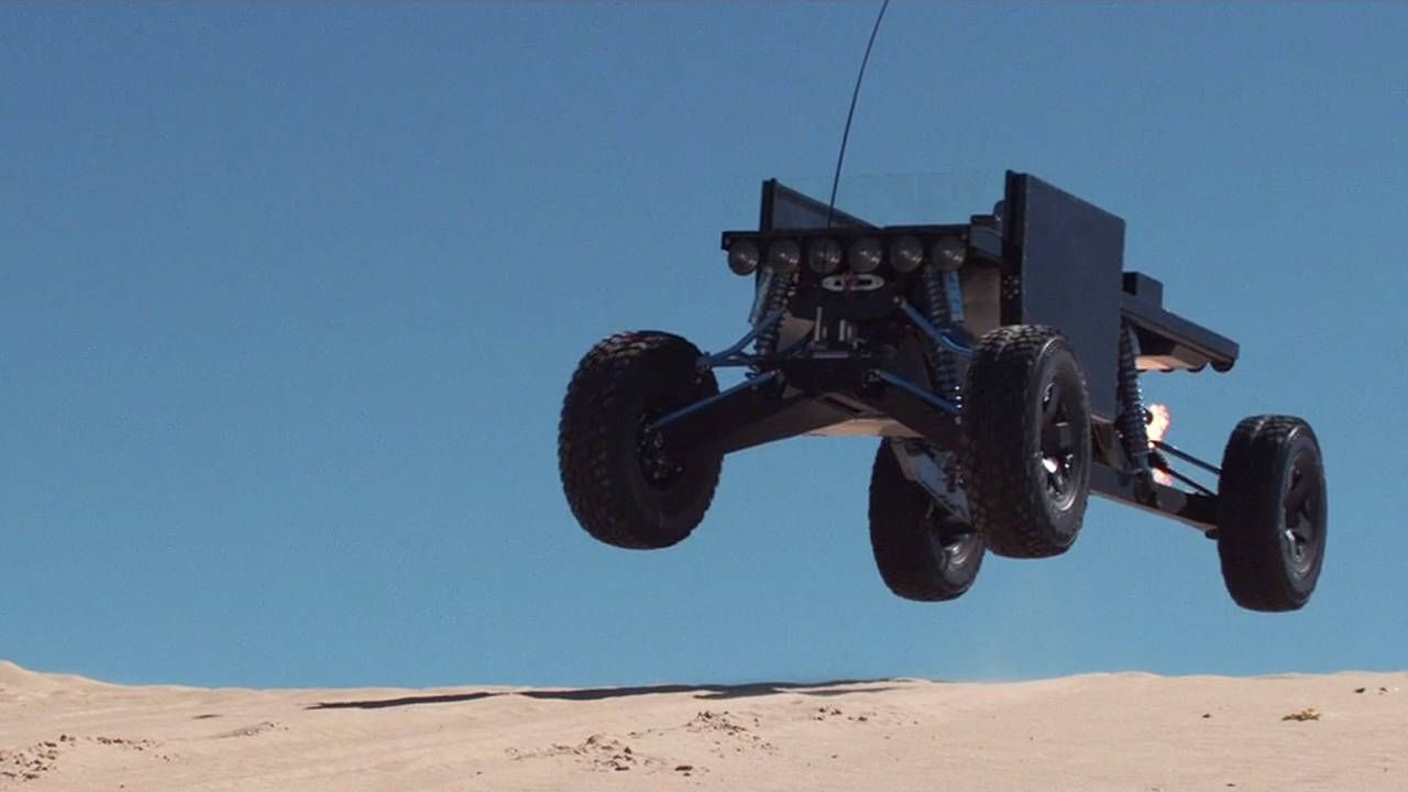 The Reboot Buggy: art masquerading as a V8 sandrail
