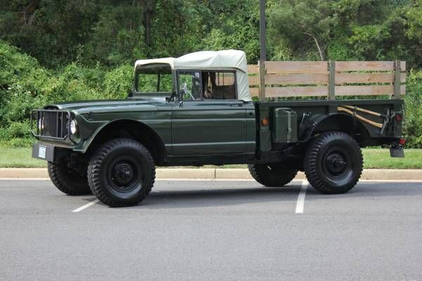 1967 Jeep Gladiator And A Key Chain Buy This And This