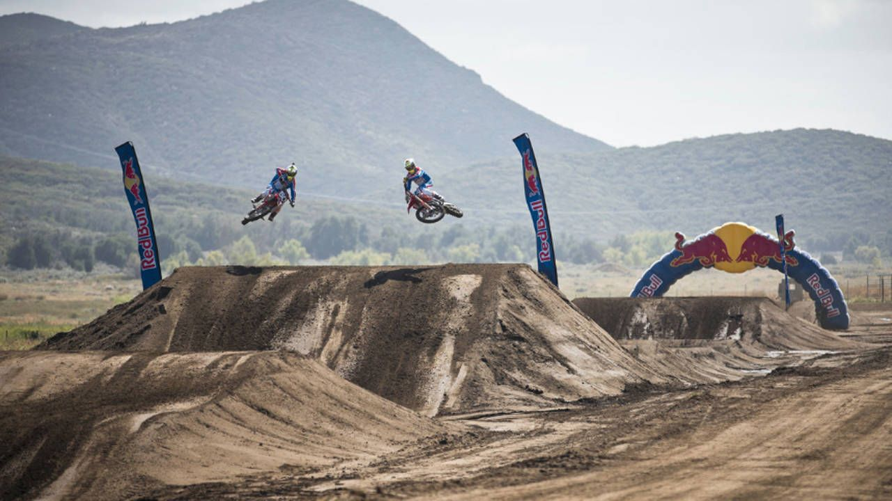 Red Bull Straight Rhythm is a new kind of motorcycle racing