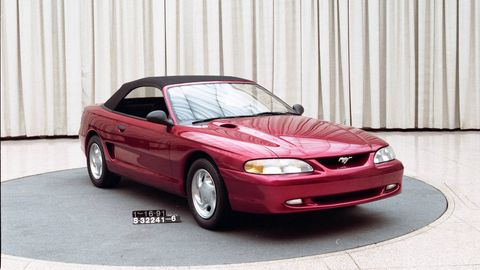 When Front Wheel Drive Almost Ruined The Ford Mustang