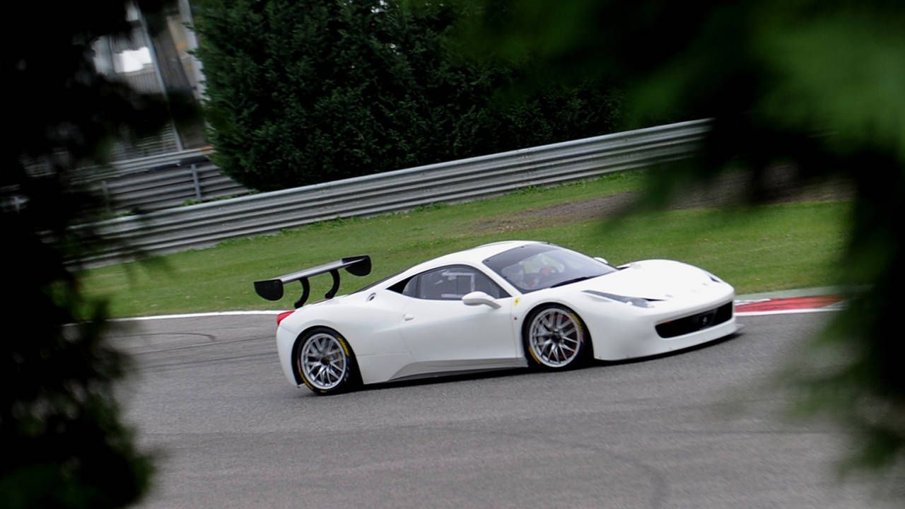 The Ferrari 458 Challenge Evoluzione is harder-core