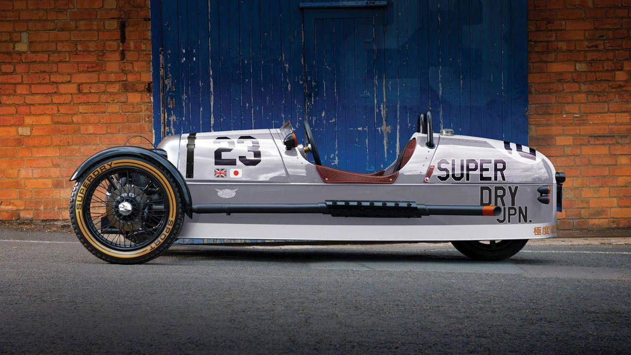 Watch XCAR drive a Morgan 3 Wheeler from England to France