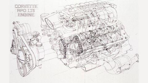 lt5 engine diagram 1990 chevrolet corvette zr 1 drive flashback  1990 chevrolet corvette zr 1 drive