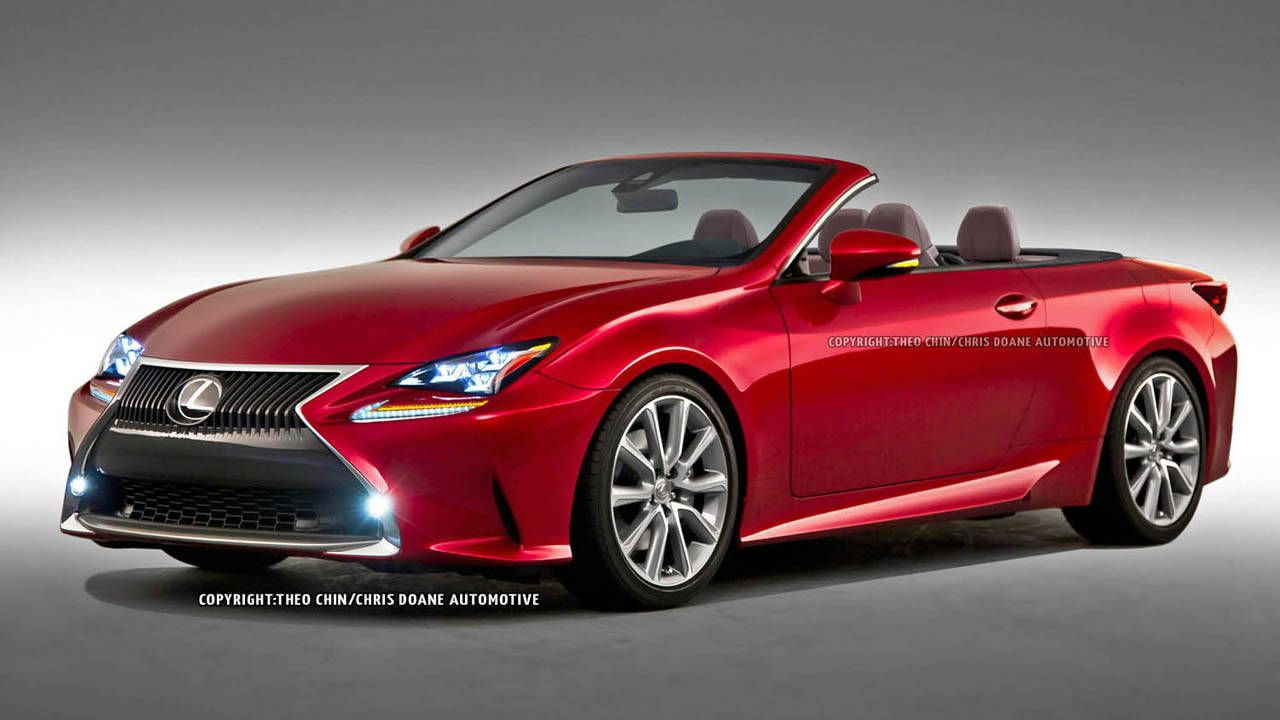 2015 lexus rc convertible - first looks