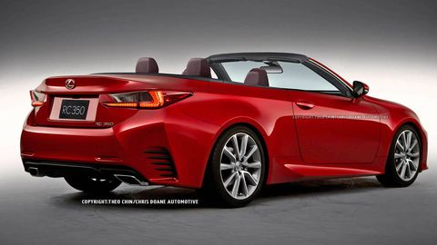 2015 Lexus Rc Convertible First Looks