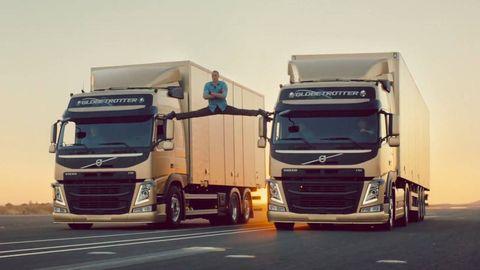 Motor vehicle, Mode of transport, Automotive design, trailer truck, Automotive mirror, Transport, Truck, Vehicle, Commercial vehicle, Grille,
