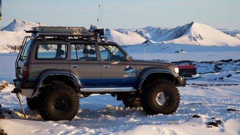 Tire, Wheel, Automotive tire, Automotive exterior, Vehicle, Land vehicle, Automotive carrying rack, Winter, Roof rack, Car,