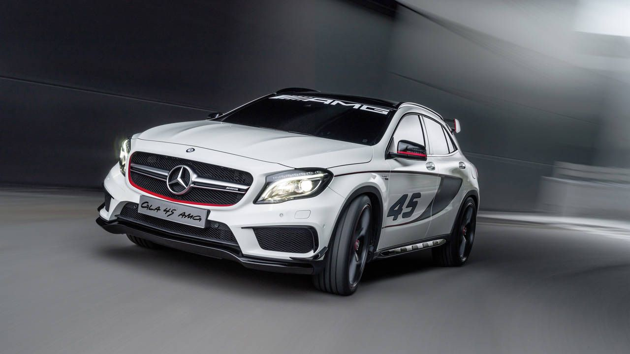 Mercedes-Benz debuts GLA 45 AMG in Los Angeles