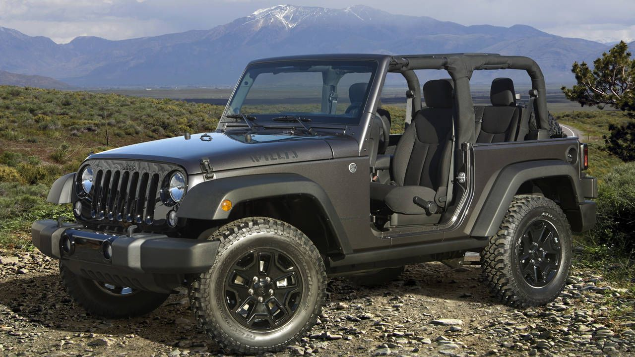 Get back to basics with Jeep's new Wrangler Willys Wheeler Edition