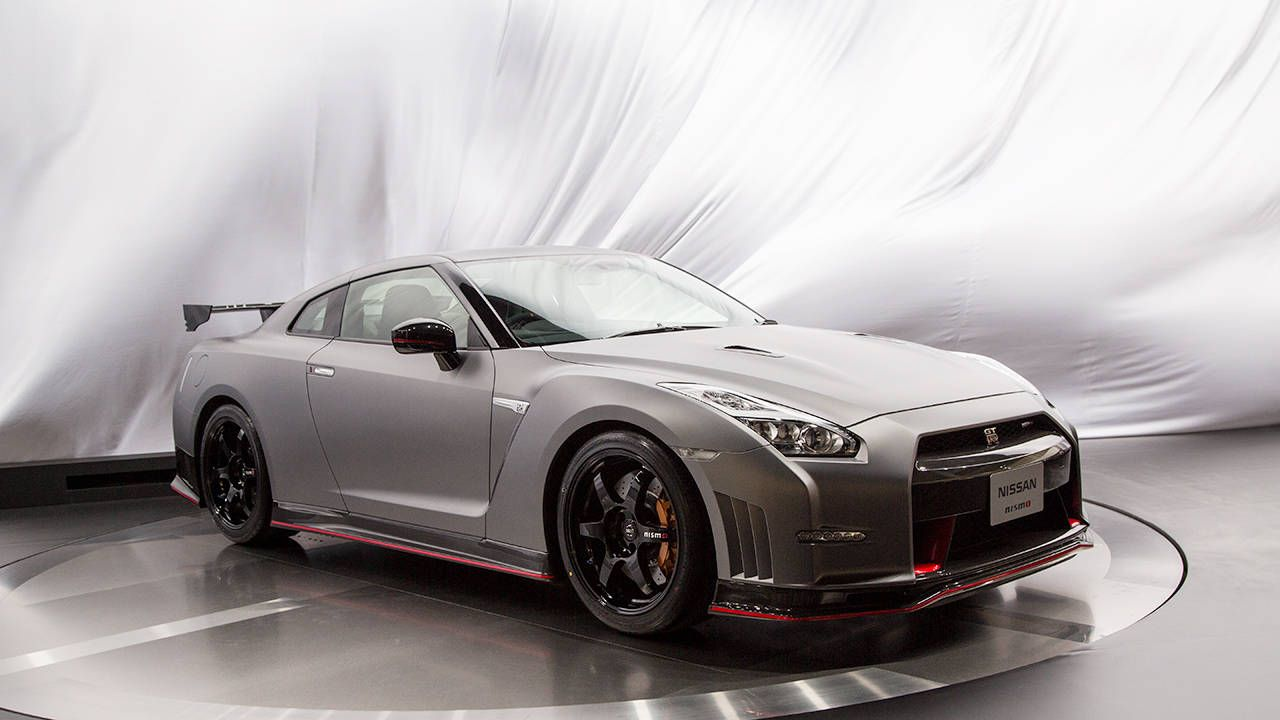 This is the 2015 Nissan GT-R Nismo