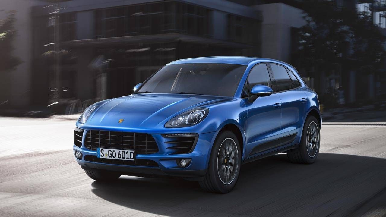The Porsche Macan gets a twin-turbo V6