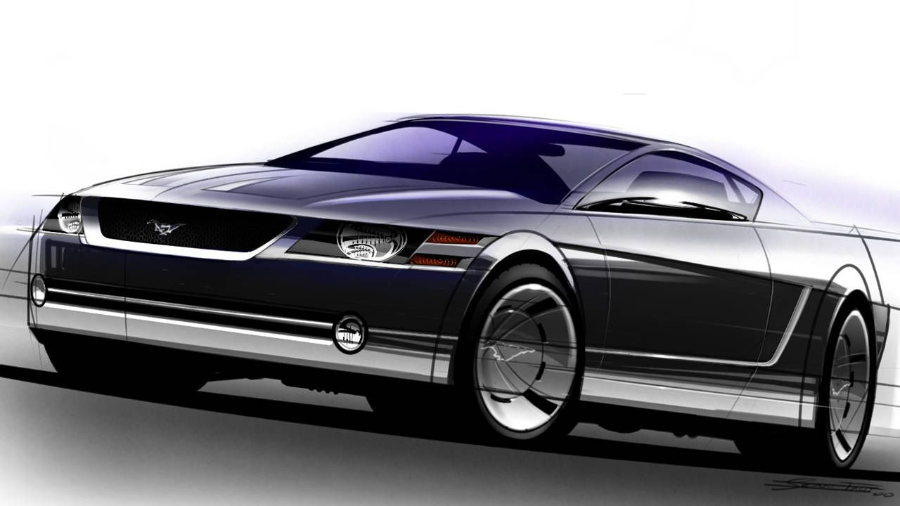 S197 Fifth Generation Ford Mustang - Design 55e631866