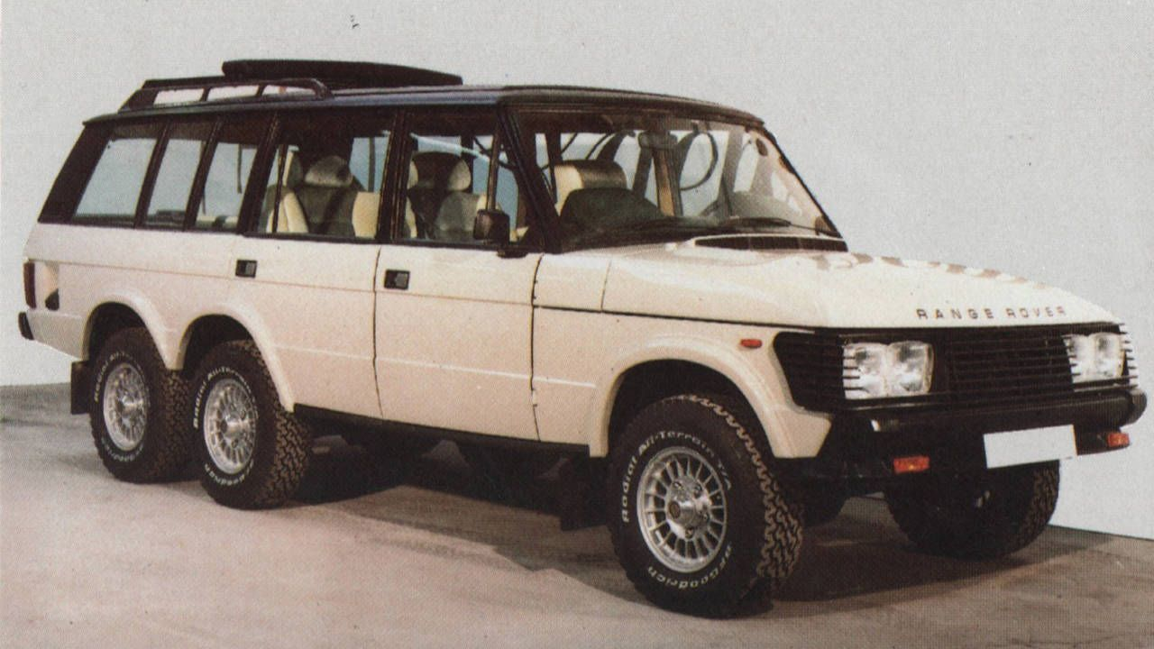 The insane Range Rovers of Grand Prix Metalcraft