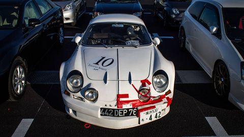 tokyo motor show parking lot