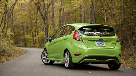 2727d356ce The 2014 Ford Fiesta ST - Road Test Review