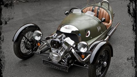 We Already Love The Morgan 3 Wheeler And Why Not It S Awesome Loud Got A V Twin Mounted Out Front You Can Have Blast Driving Without